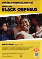 Orfeu Negro - Estonian Movie Poster (xs thumbnail)