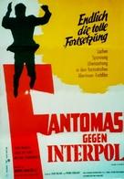 Fantômas se dèchaîne - German Movie Poster (xs thumbnail)