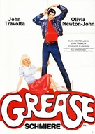 Grease - German Movie Poster (xs thumbnail)