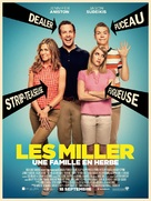 We're the Millers - French Movie Poster (xs thumbnail)