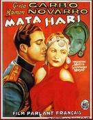 Mata Hari - Belgian Movie Poster (xs thumbnail)