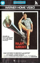 Thunderbolt And Lightfoot - Finnish VHS movie cover (xs thumbnail)
