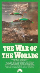 The War of the Worlds - VHS movie cover (xs thumbnail)