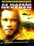 Collateral Damage - Hungarian DVD movie cover (xs thumbnail)