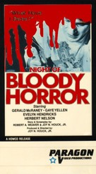Night of Bloody Horror - VHS cover (xs thumbnail)