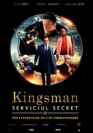 Kingsman: The Secret Service - Romanian Movie Poster (xs thumbnail)