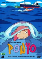 Gake no ue no Ponyo - Polish Movie Cover (xs thumbnail)