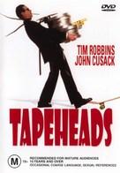 Tapeheads - Australian DVD cover (xs thumbnail)