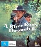A River Runs Through It - Australian Blu-Ray movie cover (xs thumbnail)