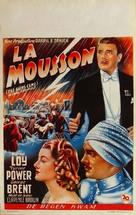 The Rains Came - Belgian Movie Poster (xs thumbnail)