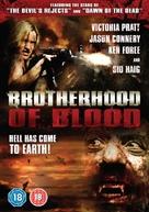 Brotherhood of Blood - British Movie Cover (xs thumbnail)