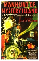 Manhunt of Mystery Island - Movie Poster (xs thumbnail)