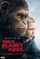 War for the Planet of the Apes - Australian Movie Poster (xs thumbnail)