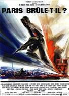 Paris brûle-t-il? - French Movie Poster (xs thumbnail)