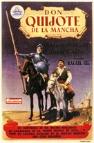 Don Quijote de la Mancha - Spanish Movie Poster (xs thumbnail)