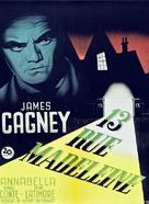 13 Rue Madeleine - Danish Movie Poster (xs thumbnail)