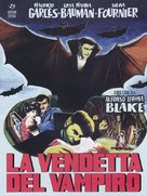 El mundo de los vampiros - Italian DVD cover (xs thumbnail)