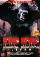 King Kong Lives - Danish DVD movie cover (xs thumbnail)