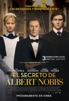 Albert Nobbs - Peruvian Movie Poster (xs thumbnail)