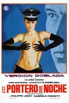 Il portiere di notte - Spanish Movie Poster (xs thumbnail)