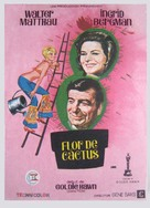 Cactus Flower - Spanish Movie Poster (xs thumbnail)