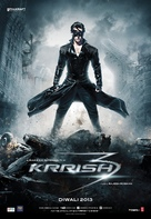 Krrish 3 - Indian Movie Poster (xs thumbnail)