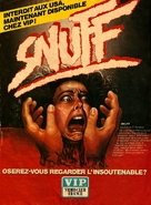 Snuff - French DVD cover (xs thumbnail)
