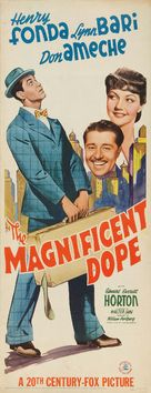 The Magnificent Dope - Movie Poster (xs thumbnail)