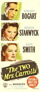 The Two Mrs. Carrolls - Australian Movie Poster (xs thumbnail)
