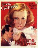 As You Desire Me - Belgian Movie Poster (xs thumbnail)