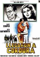 They Came to Cordura - Spanish Movie Poster (xs thumbnail)