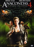 Anaconda 4: Trail of Blood - French Movie Cover (xs thumbnail)