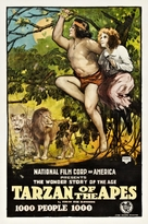 Tarzan of the Apes - Movie Poster (xs thumbnail)