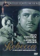 Rebecca - Brazilian DVD cover (xs thumbnail)