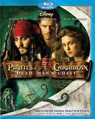 Pirates of the Caribbean: Dead Man's Chest - Blu-Ray movie cover (xs thumbnail)