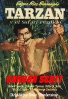 Tarzan and the Lost Safari - Spanish Movie Poster (xs thumbnail)