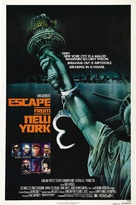 Escape From New York - Advance poster (xs thumbnail)