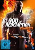 Blood of Redemption - German DVD cover (xs thumbnail)