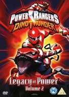 """Power Rangers DinoThunder"" - British DVD cover (xs thumbnail)"