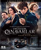 Fantastic Beasts and Where to Find Them - Turkish Movie Cover (xs thumbnail)