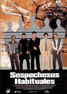 The Usual Suspects - Spanish Movie Poster (xs thumbnail)