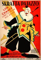 Laugh, Clown, Laugh - Swedish Movie Poster (xs thumbnail)