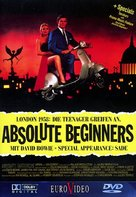 Absolute Beginners - German DVD movie cover (xs thumbnail)