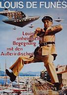 Le gendarme et les extra-terrestres - German Movie Poster (xs thumbnail)