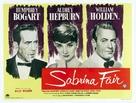 Sabrina - British Movie Poster (xs thumbnail)