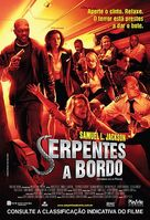 Snakes on a Plane - Brazilian Movie Poster (xs thumbnail)