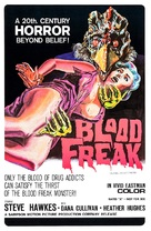 Blood Freak - Movie Poster (xs thumbnail)