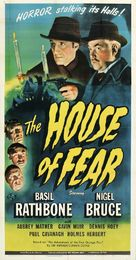 The House of Fear - Theatrical poster (xs thumbnail)