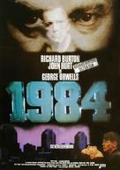 Nineteen Eighty-Four - German Movie Poster (xs thumbnail)