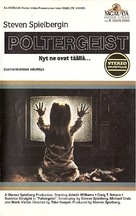 Poltergeist - Finnish VHS movie cover (xs thumbnail)